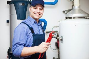plumber-fixing-water-heater